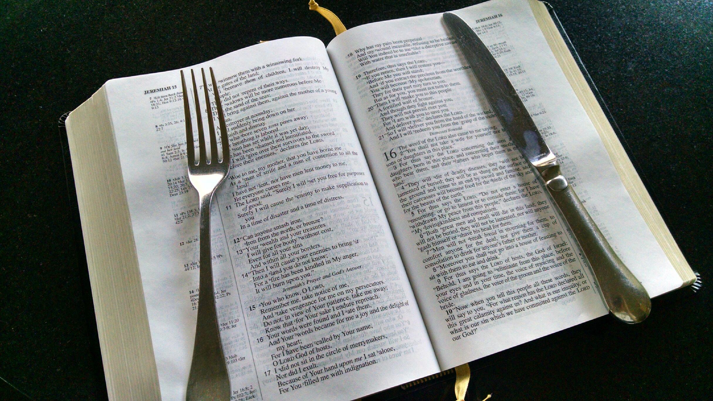 Jeremiah's Menu, Christianity, Bible study, Devotional, Identity
